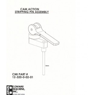 Cam Action Upper Stripping Pin Assembly