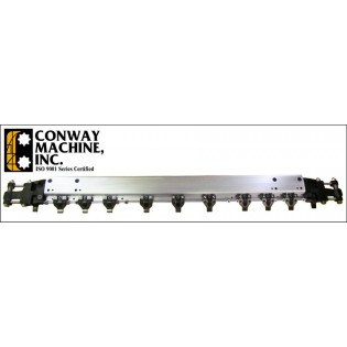 Conway 332 Gripper Bar Complete Fits Bobst 102 CE/CER/II Die Cutter